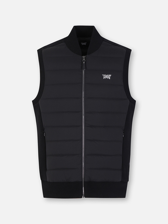 WINTER JQD KNIT HYBRID DOWN VEST
