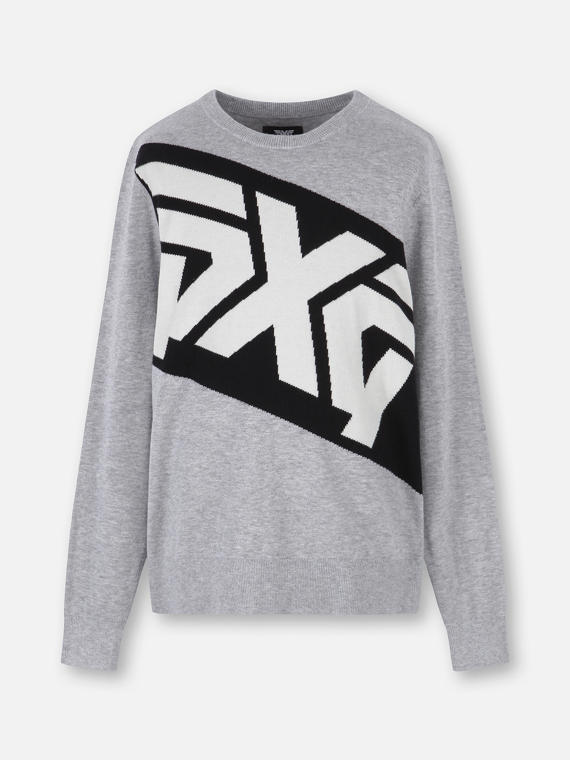 COLORBLOCK BIG LOGO SWEATER