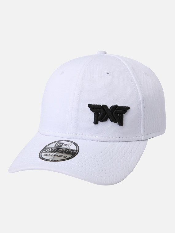 Minimalist Fitted Cap - White