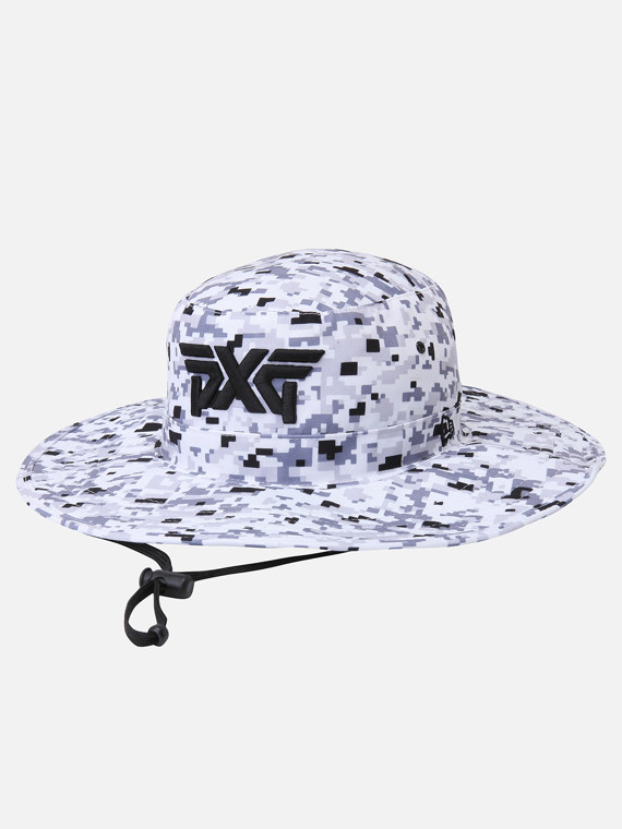 Snow Camo Bush Hat