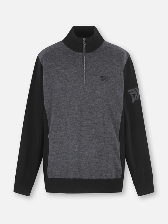 WINDPROOF HALFZIP SWEATER