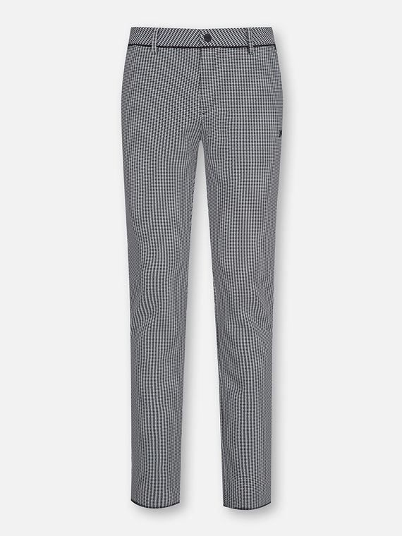 HOUNDTOOTH PATTERN PANTS