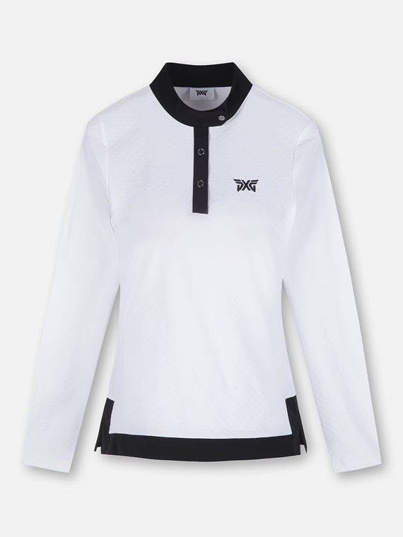 SPRING BLADE COLLAR LONG SLEEVE