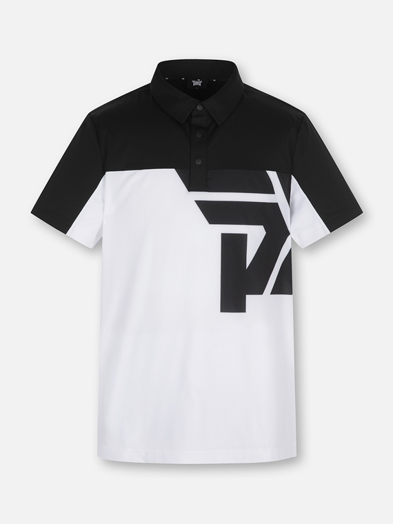 PXG COLOR BLOCK BIG LOGO T-SHIRT