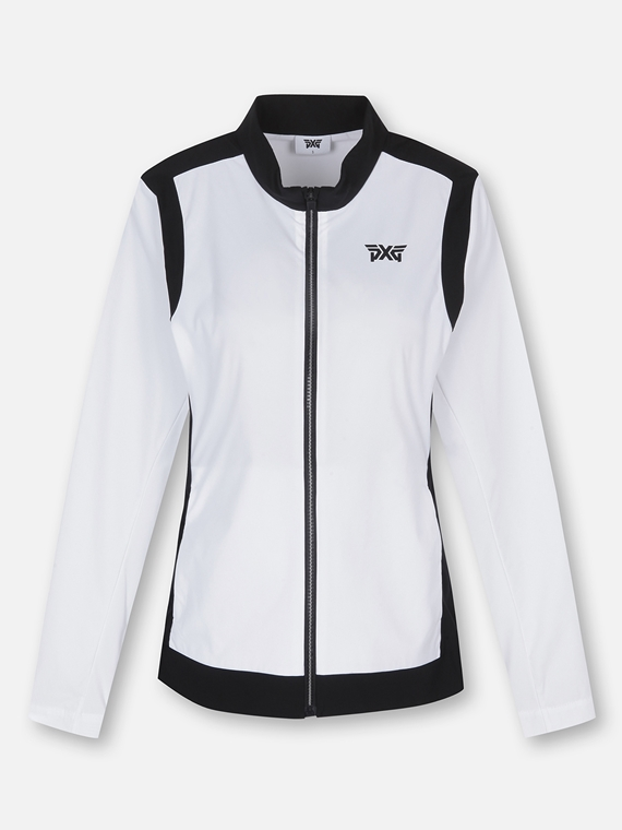 WOMEN COLOR BLOCKED TECH JACKET