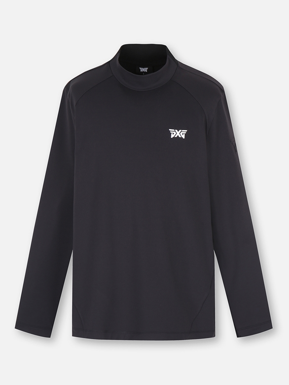 SOLID LOW NECK LONG SLEEVE