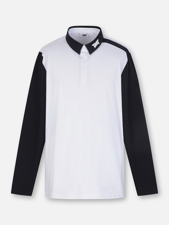 BLOCK COLLAR LONG SLEEVE