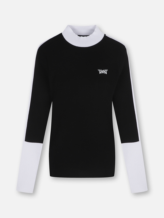 WOMEN SLIM FIT LOW NECK SWEATER