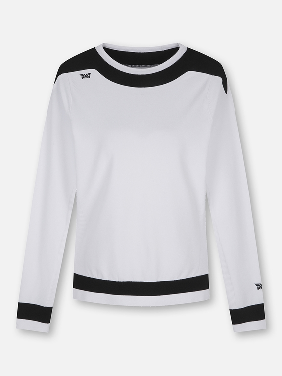 WOMEN BOAT NECK SWEATER