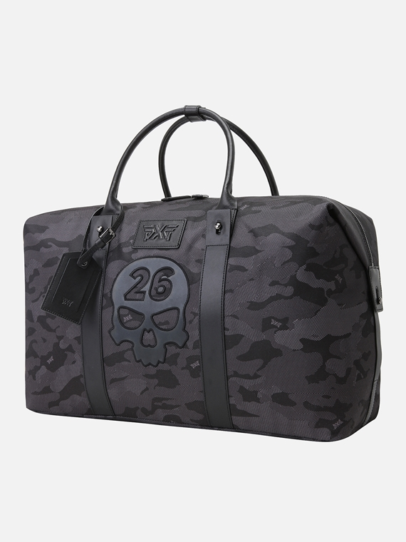 CAMO SKULL BOSTON BAG