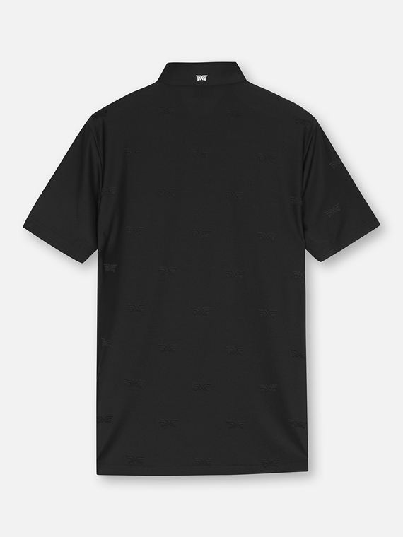 PXG LOGO JAD COLLAR SHORT SLEEVE