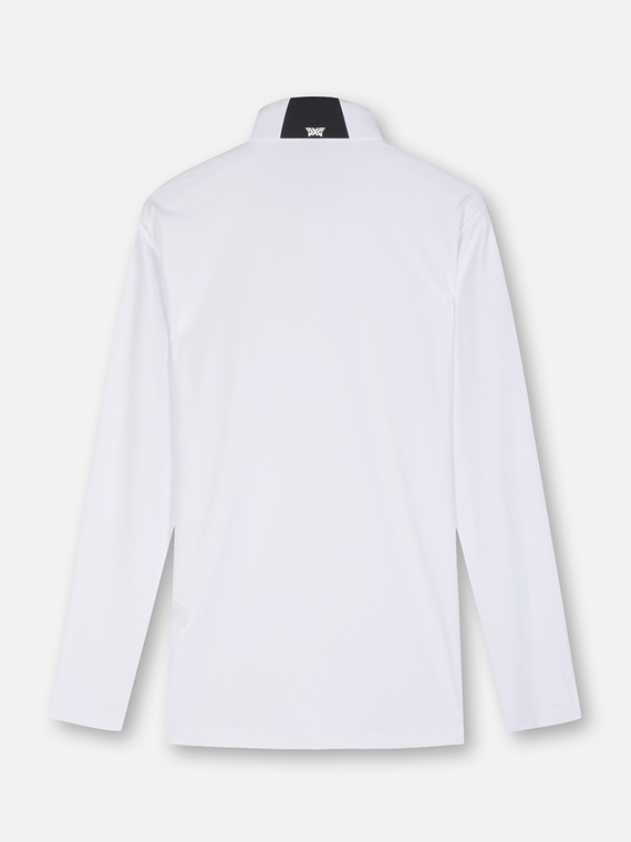 ESSENTIAL SOLID COLLAR LONG SLEEVE