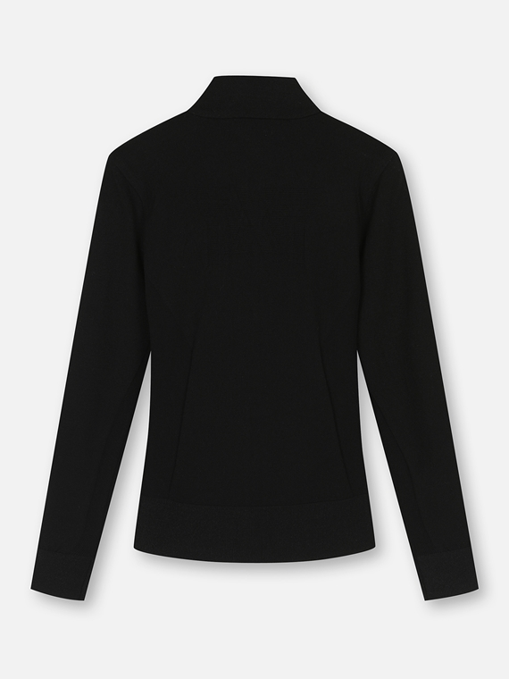 WOMEN A.I. HYBRID KNIT JACKET
