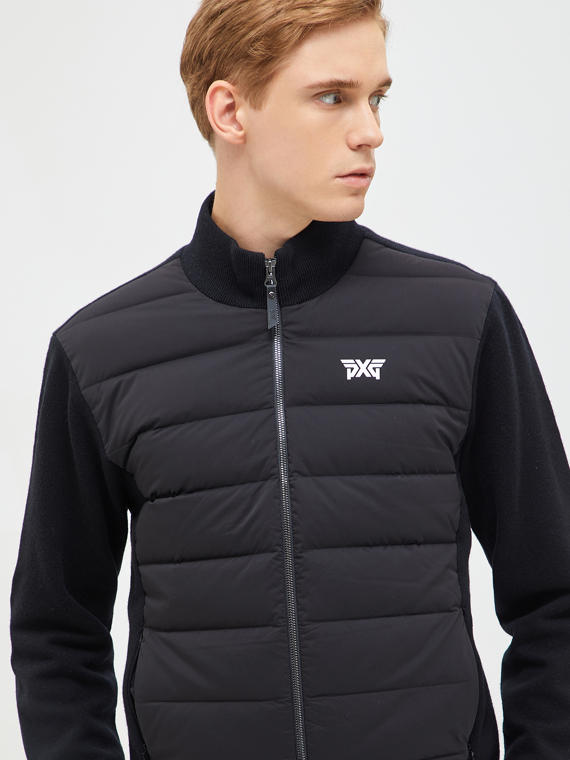 HYBRID KNIT DOWN JACKET