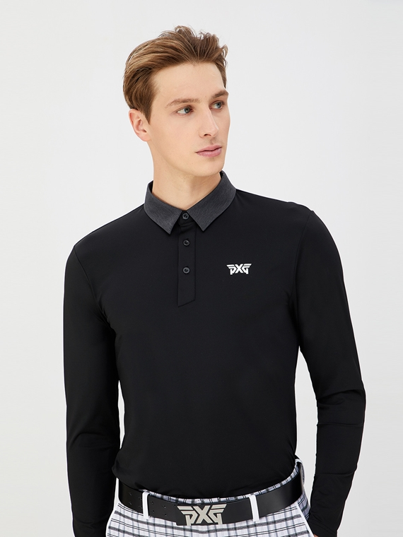 TECH FIT COLLAR POINT LONG SLEEVE