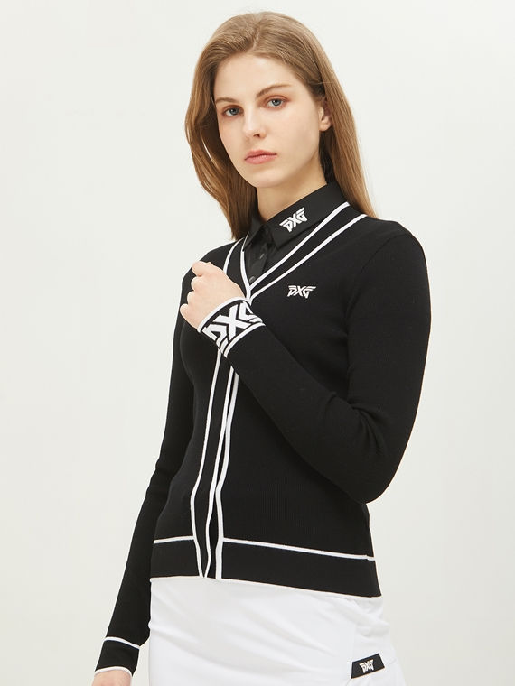 WOMEN V-NECK CARDIGAN
