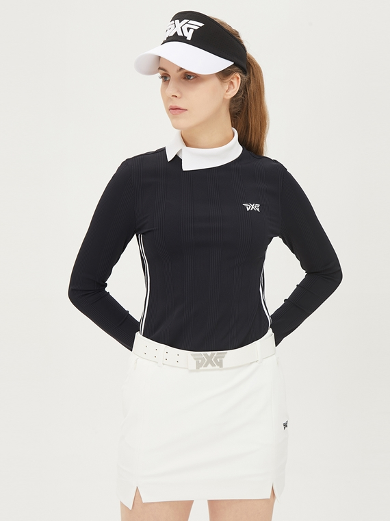 WOMEN COLOR BLOCK WIDE VISOR